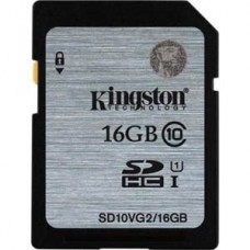 Kingston 16GB UHS-I SDHC Memory Card Class 10