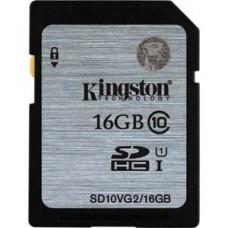 Kingston 16GB UHS-I SDHC Memory Card Class 10