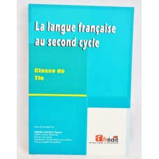 la langue francaise au 2nd cycle Tles
