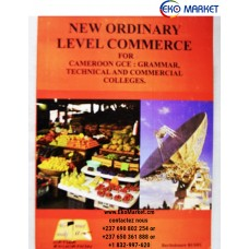 New Ordinary Level Commerce for Cameroon GCE Grammar, Technical and Commercial Colleges