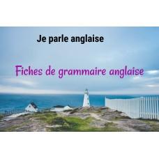 Fiches de grammaire Anglaise