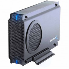 "Sabrent 3.5"" PATA/SATA to eSATA & USB 2.0 Hard Drive Enclosure: EC-UEIS7"