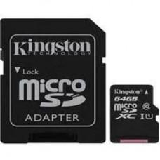KINGSTON 64GB Class 10 UHS-I MicroSDHC