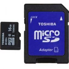 Toshiba 16GB Micro SDHC Class 10 UHS-1 sd-C016UHS1(6A