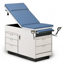 Exam Table blue color