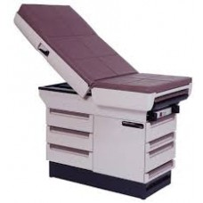 Exam  table red color