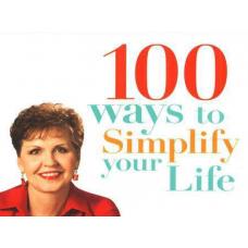 100 Ways to Simplify Your Life Joyce Meyer
