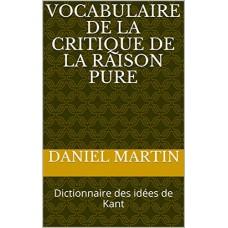 DICTIONNAIRE DES IDEES DE KANT