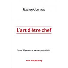 L art d etre chef