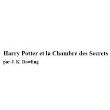 Chambre des secrets