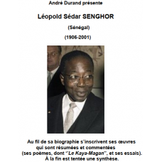 Andre Durand presente Leopold Sedar SENGHOR