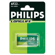 Philips 10600122 6F22 9 V  Battery