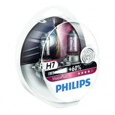 Philips 12972VPS2 Set of 2 headlight bulbs VisionPlus + 60 H7