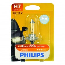 Philips PREMIUM 12972 PRB1 Bulb H7 + 30 percent Blister 1 item