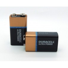 9V Alkaline Battery 6LR61 Duracell Ultra 9V