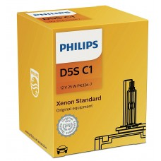 Philips Xenon Standard 12410C1 Bulb for car - D5S, 25 W, xenon, high beam, low beam, pk32d-7, 4200 K