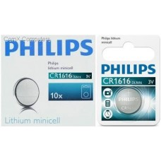 CR1616 Philips lithium Minicells Battery