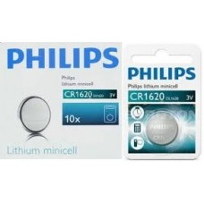 cr1620 Philips lithium Minicells Battery