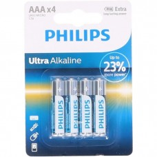 PHILIPS Piles LR03  AAA Ultra Alcaline  1,5 V