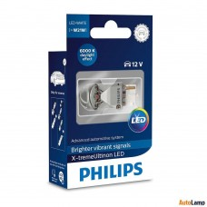 Philips X-tremeultinon W21W T20 12 V 3 W W3x16q DEL Blanc 12795X1 6000K unique