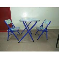 Table d etude et deux chaises d enfants de 2-6 ans