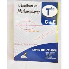 L Excellence en mathematiques tle C et E de victor TEGNINKO edition nmi
