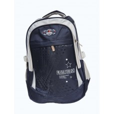 stylish blue mixed school bags