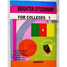 Brighter Citizenship For Colleges Form 1