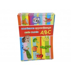 Nourrissonts Apprentissage Carte Murale ABC