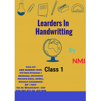 Leaders in Handwritting class 1