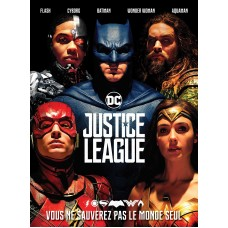 JUSTICE LEAGUE Ticket de Cinema
