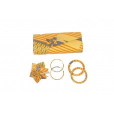 set pouch - bracelet - loop and barrette