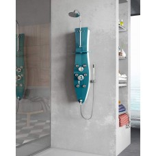 Hydromassage shower columns