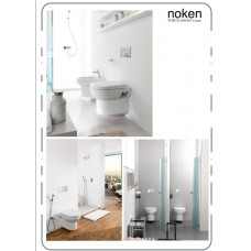 Suspended toilet pack and structure
