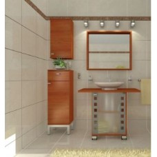 Furniture for the pedestal sink