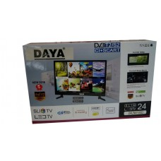 DAYA- TV LED Full HD 1080p - 24 pouces - Ultra Slim