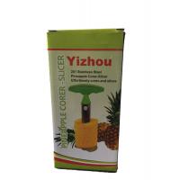Coupe Ananas,Trancheur d Ananas, Zesteur Eplucheur
