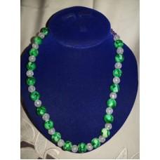 Collier de perle de rocaille