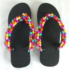 Sandales faites maison de couleur melangee haute qualite