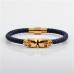 Bracelet Noir Brillant
