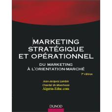 Marketing strategique et operationnel
