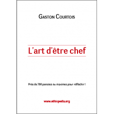 L-art D-etre Chef by Gaston Courtois