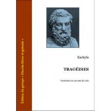 Eschyle tragedies