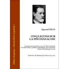 Freud Cinq Lecons Sur La Psychanalyse