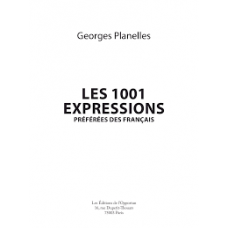 1000 Expressions Preferenes des Francais Echantillon