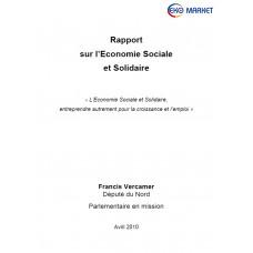 Rapport Sur L-Economie Sociale et Solidaire