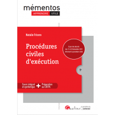 SciencesJuridiques Procedure civile dexecution