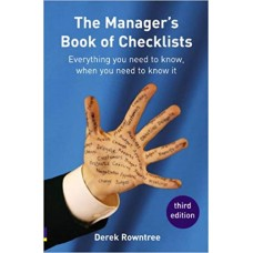 Manager s Book of Checklists everything you need to know, when you need to know it