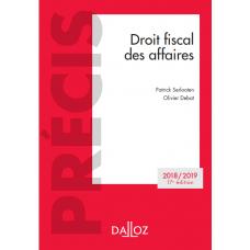 DROIT FISCAL DES AFFAIRE DALLOZ