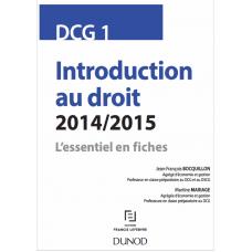 Introduction au droit 2014 2015 Lessentiel en fiches